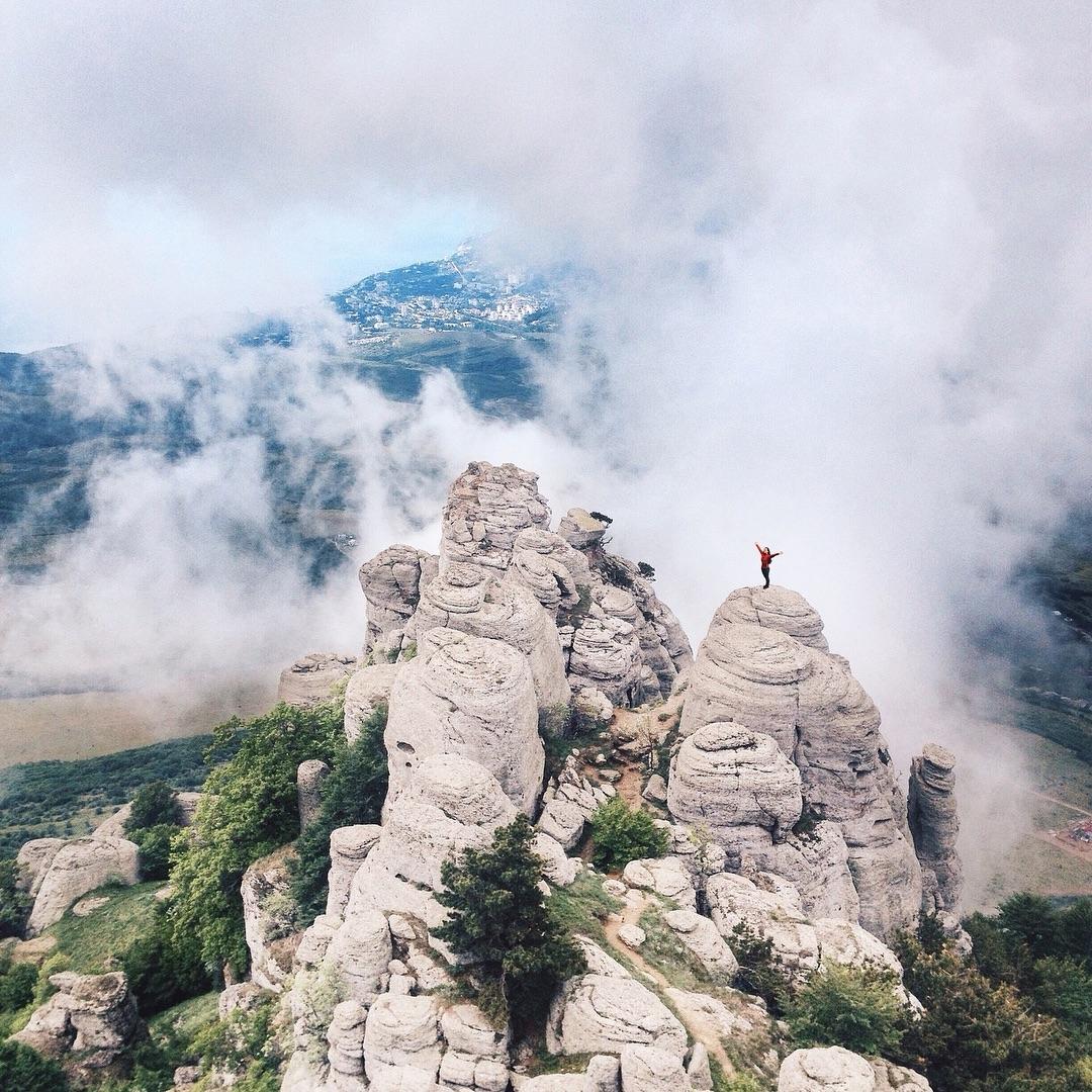 Долина Привидений, водопад Джур-Джур
