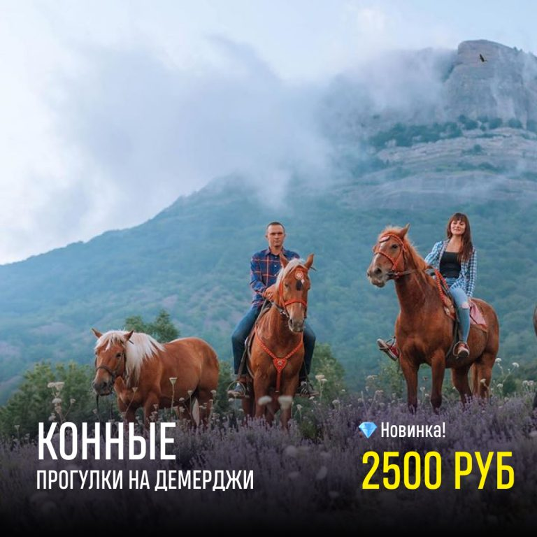 Демерджи на лошадях