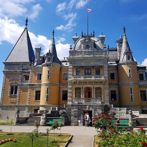 Массандровский дворец и парк