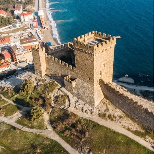 Судак: Генуэзская крепость, тропа Голицына. Цена — 1800 рублей