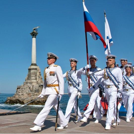 37. Репетиция парада в Севастополе