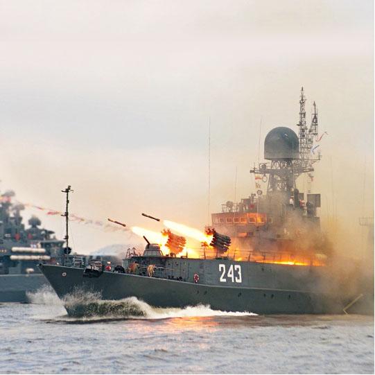 38.Парад ВМФ России в Севастополе